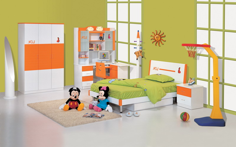PRE-SCHOOLER'S BEDROOM FURNITURE